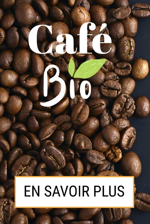 Grains de café bio