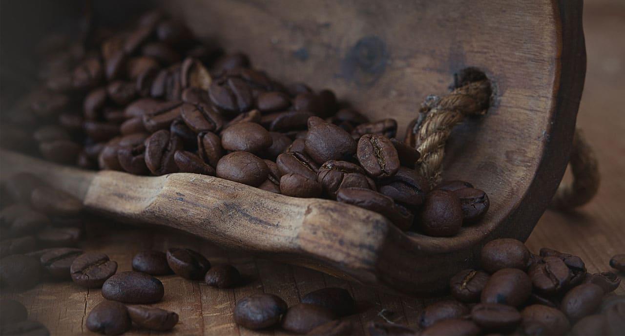 grains de café du Guatemala