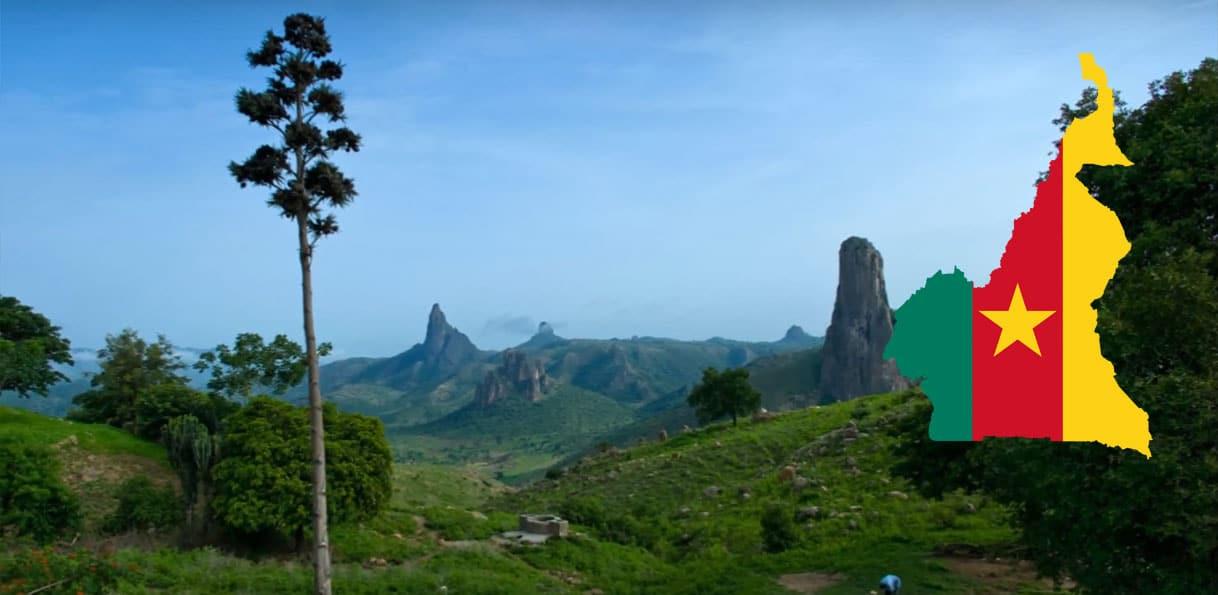 Paysage du Cameroun