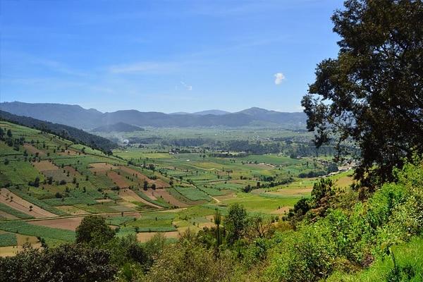 paysage du Guatemala