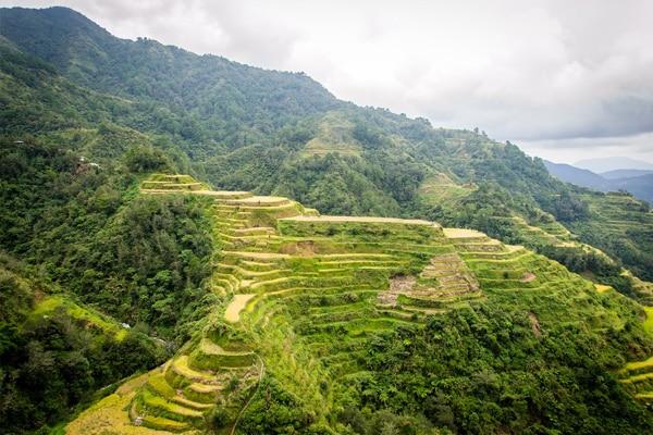 Paysage aux Philippines