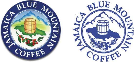 Logos pour certifier le blue Mountain