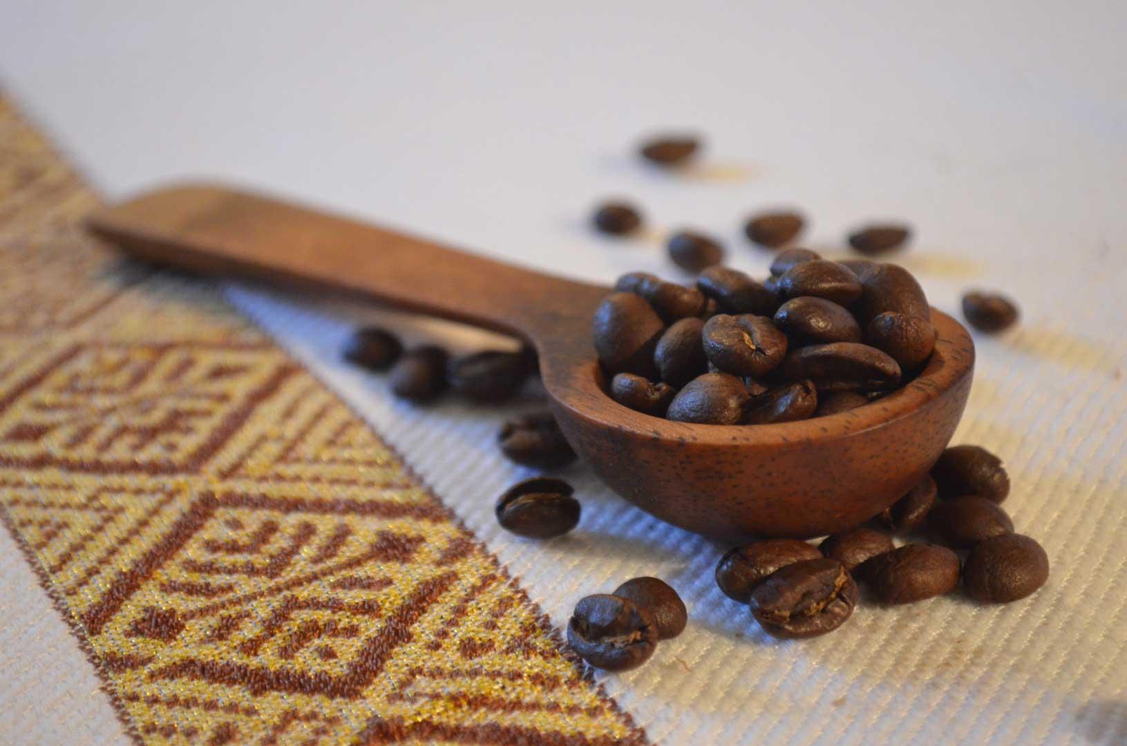 Grains de café d'Afrique