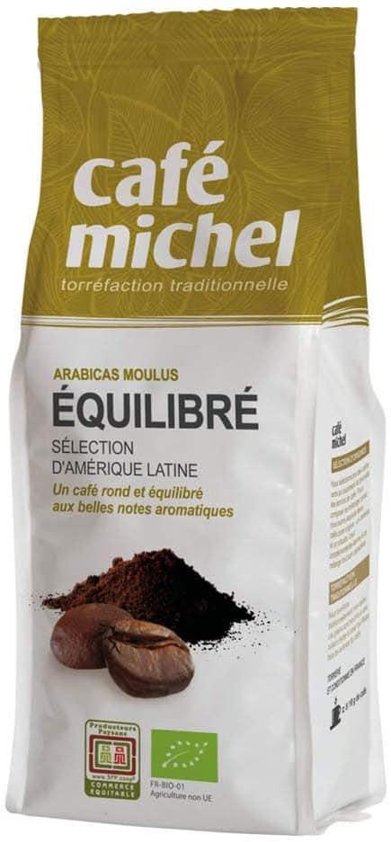 Café Michel équilibré, mélange d'arabicas d'Amérique latine