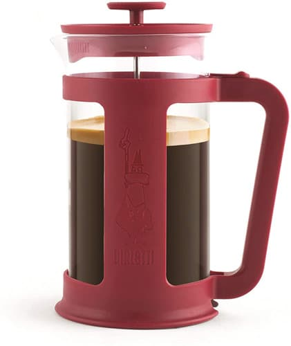 Cafetière à piston Bialetti Smart Red - 8 tasses