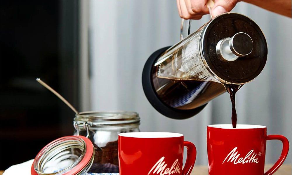Cafetière à piston et tasses Melitta