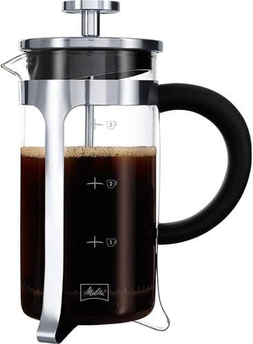 cafetière à piston Melitta Premium 3 tasses