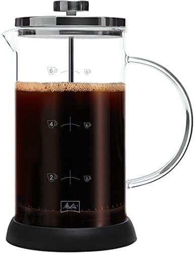 cafetière à piston Melitta 9 tasses standard